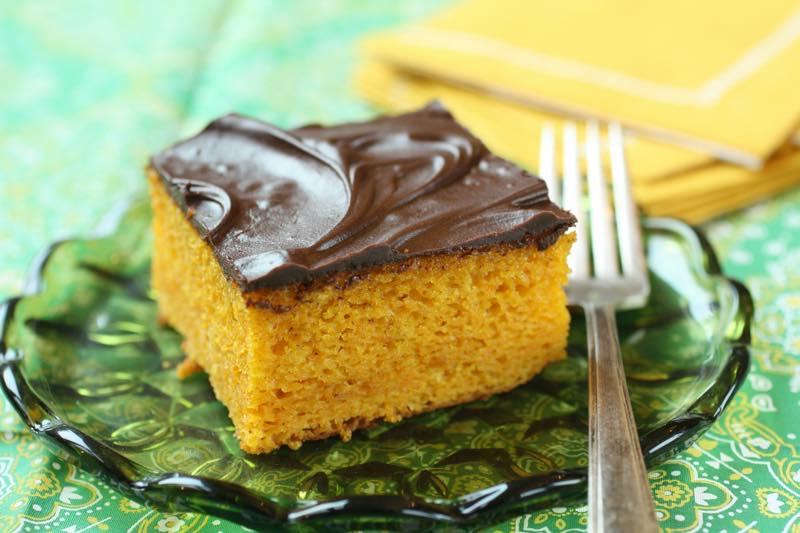 Brazilian Style Carrot Cake