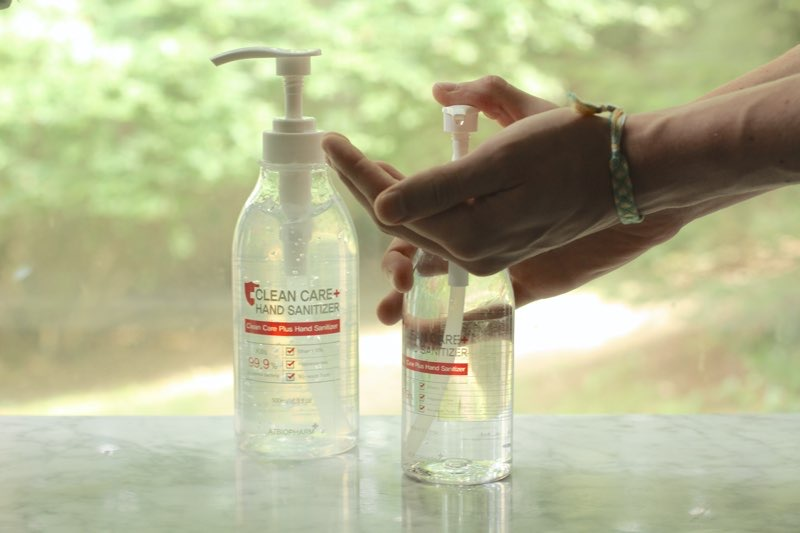United Mall Clean Care Hand Sanitizer