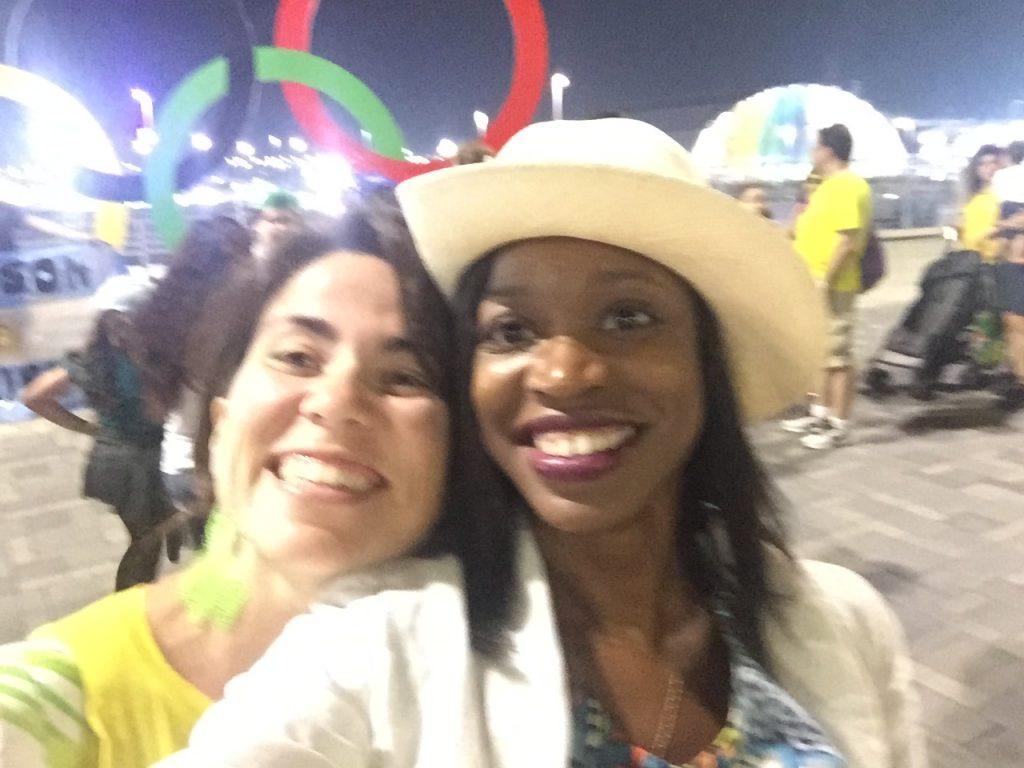 Jamila Robinson in Brazil